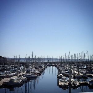 Coucou ! #Brest #Bretagnetourisme #portdebrest #wbzh #ocean