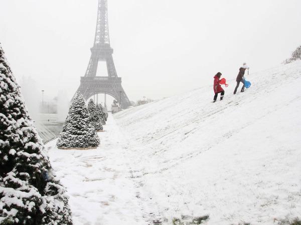 Haaa ! Le printemps à Paris...