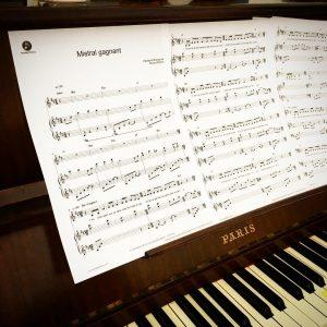 Un jour jme suis dit  si tes pianiste ethellip