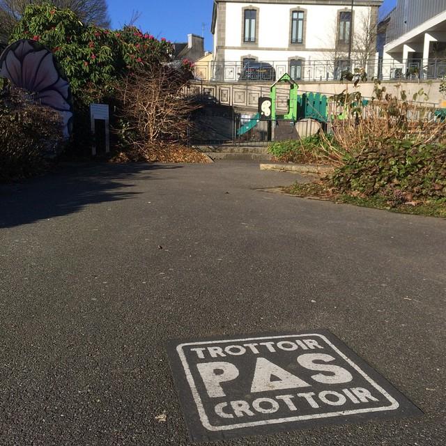 Ha ma ville ! #Brest #pascrottoir #ilovemycitybrest #bzh #wbzh #Bretagnetourisme…