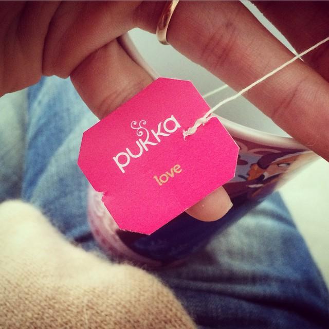 Réconfort, bis... #reprise #pukkatea #Tea #Love #DrinkLove