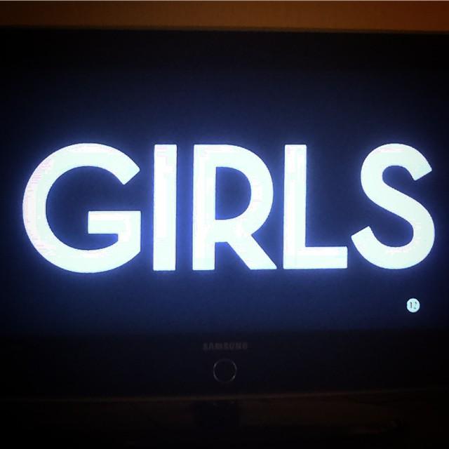 YAY ! @lenadunham #GIRLS #HBO @aw