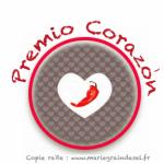 Premio Corazon – le tag pimenté !