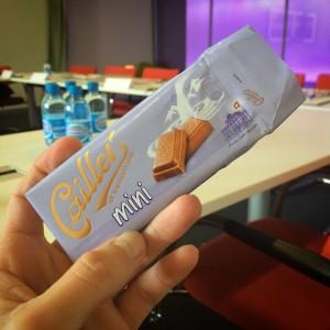 De l'avantage de bosser en Suisse... #chocolate #sweiss #nestle