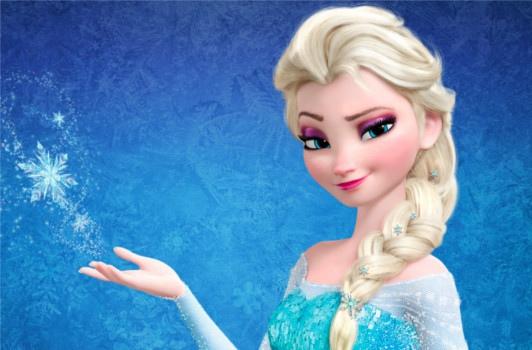 Elsa, elle a une sorte d'air hautain, comme ça. Mais vu qu'elle a engrangé des milliards de dollars : elle peut.