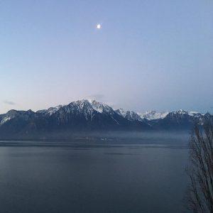Quelle vue ! montagne dawn