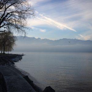Ce lac ces montagnes et moi nous venons de passerhellip